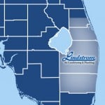 Lindstrom Air Conditioning & Plumbing South Florida Service Area Map