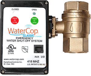 WaterCop Emergency Shut-Off System