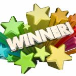 Winner Success Won Contest Lottery Competition Game Stars 3d Wor
