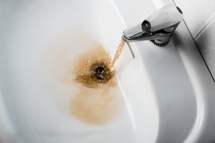 brown water plumbing