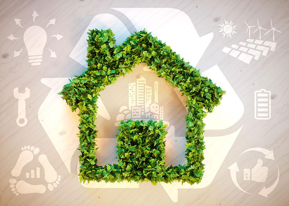 Clean energy home