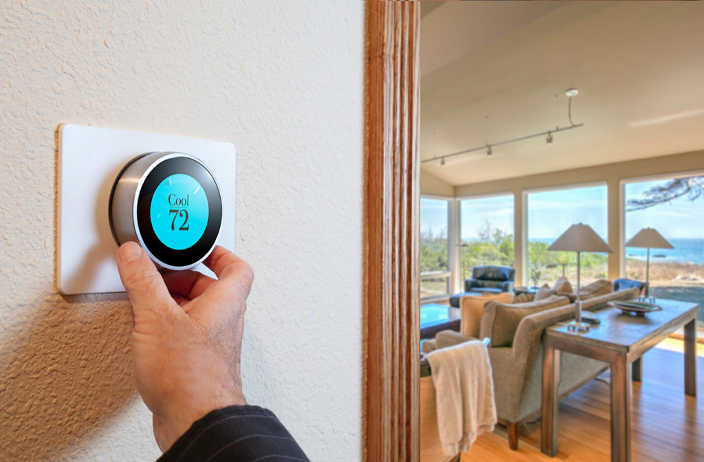 Cooling programmable thermostat