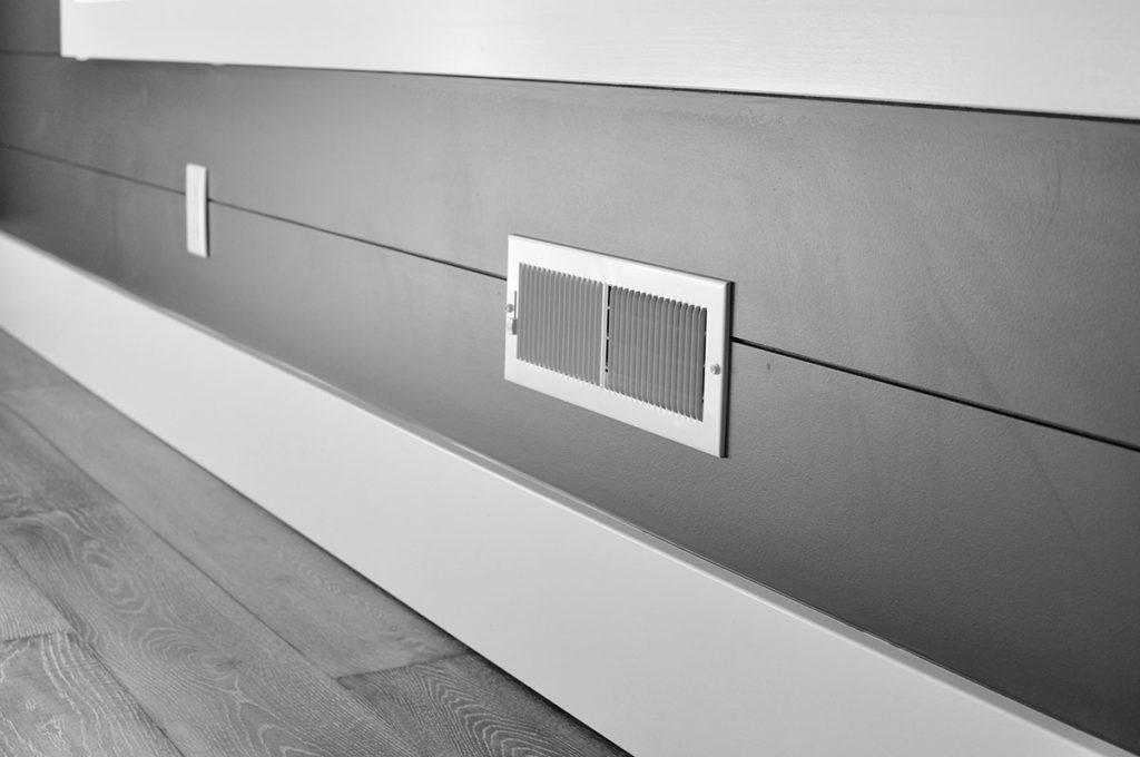 Wall HVAC vent