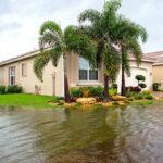 flooding outside a Florida home