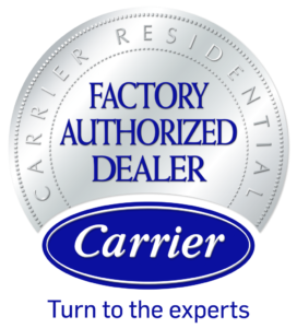 Carrier Factory Authorized Dealer logo
