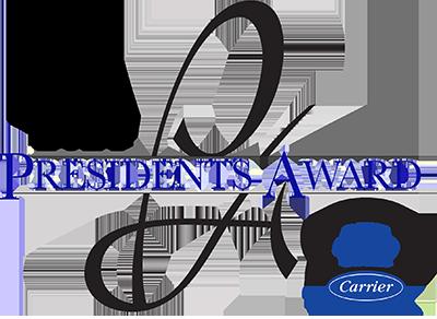 Carrier President's Award Winner